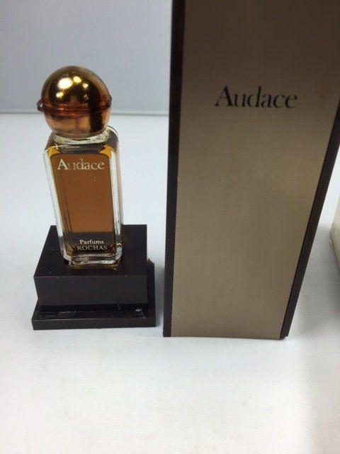Audace Rochas pure parfum 15ml. Rare, vintage. 1970s Sealed