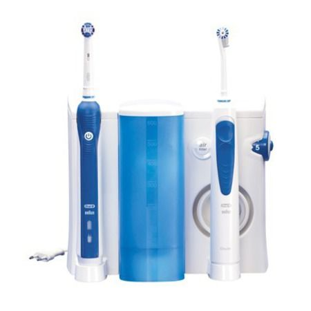 Brosse à Dents électrique + Jet Dentaire Oral-b Oxyjet + 3000 - 3 Suisses