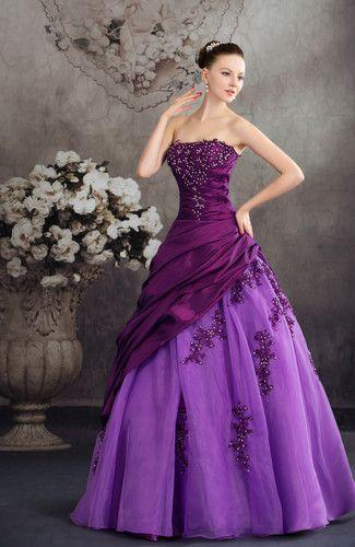 Disney Princess Beach Strapless Sleeveless Taffeta Floor Length Bridal Gowns…