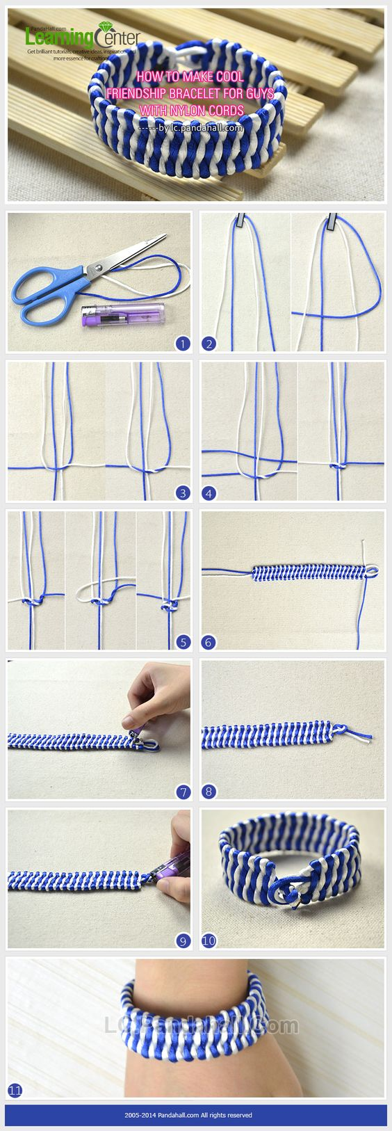 how to make friendship bracelets with thread