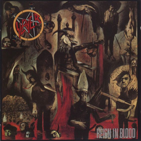Larry Carroll Slayer Reign In Blood Raining Blood!!! - 'theres must be some way out of here'