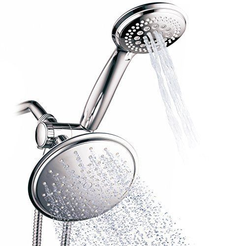 Bath Accessories Shower Head Handheld Shower Set 7 Settings