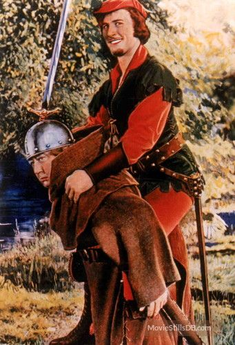 The Adventures Of Robin Hood Promo Shot Of Errol Flynn Eugene Pallette Robin Hood Errol Flynn Turner Classic Movies