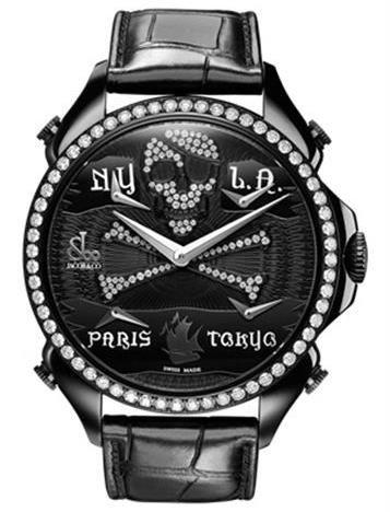 Jacob & Co. Palatial Five Time Zone Pirate Black PVD
