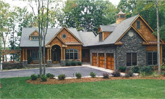 Basement house plans walkout basement and basements on for Log home floor plans with garage and basement