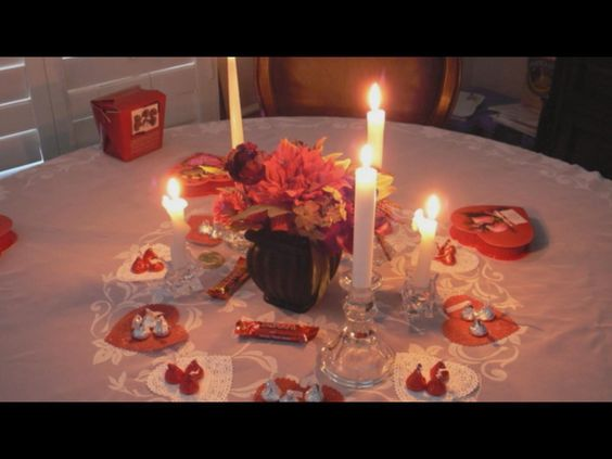 Romantic Ideas For Her On Valentine S Day At Home Home Design Ideas