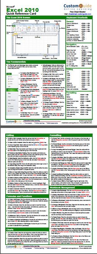 Excel 2010 Vba Guide