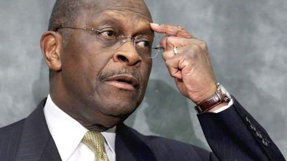 Ginger White had a 13 year affair with this man.  If not for Ginger White, Newt Gingrich would have spent more time at Tiffany's and less campaigning. - Oh yeah - I forgot to mention - this guy is named Herman Cain and he was GOP Flavor Of The Month for less than a month in 2011.  He had a lot of thoughts twirling 'round in his head and even more women twirling 'round 'n' mistress-ing in his life!  :  )