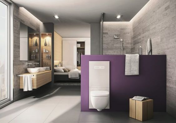 Badezimmer - Schlafzimmer offen - TECE - Badideen - Bathroom ...
