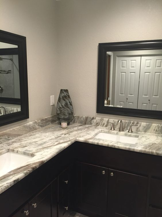 Grey Master Bath And Brown On Pinterest