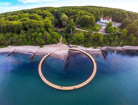 Puente Infinito en Dinamarca - Fubiz Medios