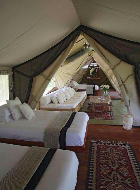 glamping luxus Camping mehr platz komfort strom
