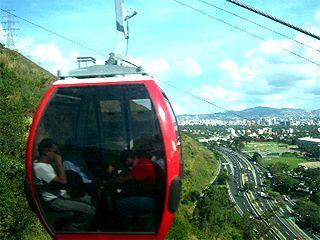 Teleférico Guaraira Repano, Caracas, Venezuela