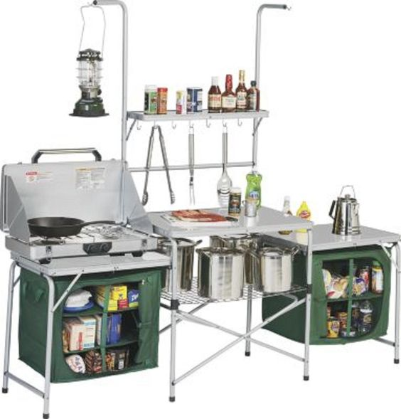$250 Amazon.com: Outdoor Deluxe Portable Camping Kitchen