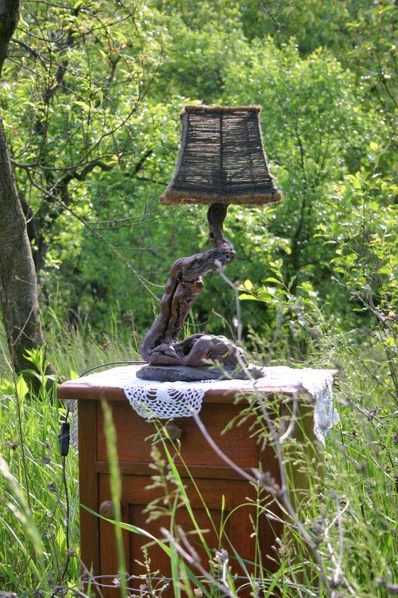 Grapevine Lamps