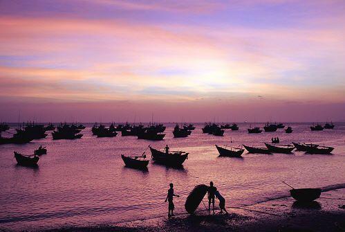 The beauty of Mui Ne beach