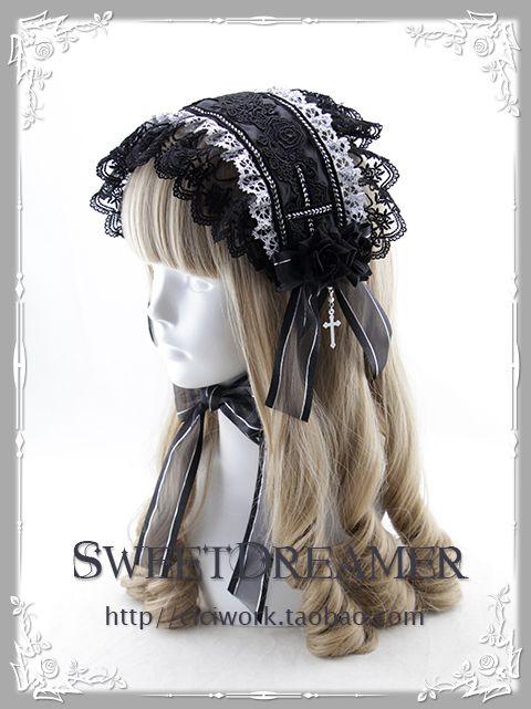 Ciciworks Rose and Cross headdress