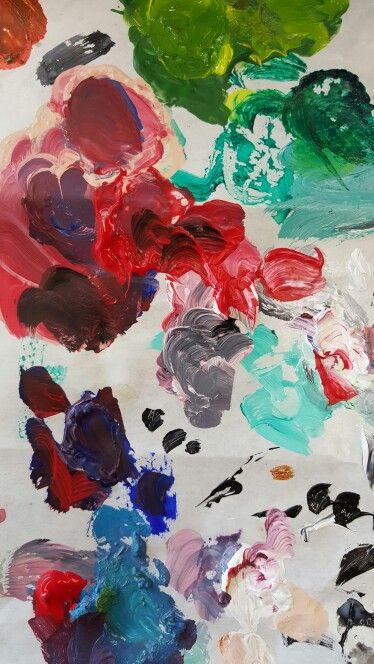 Art class palette