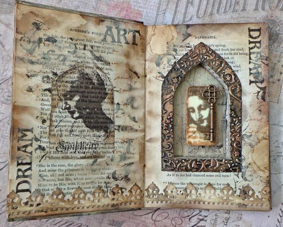 Katy Leitch - Altered Book Project | Unruly PaperArts