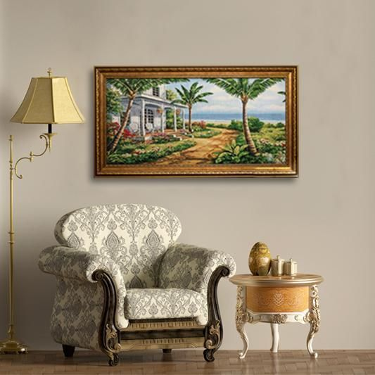 Framed Tapestry Wall Art
