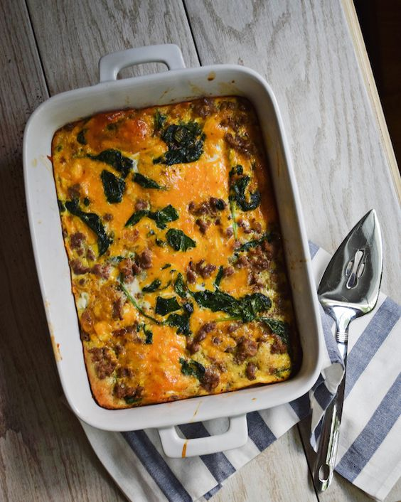 Rachel Schultz:  OUR FAVORITE EGG BAKE (WITH A CRESCENT ROLL CRUST!)