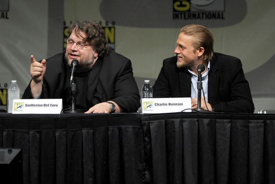 "Charlie Hunnam and Guillermo del Toro - Warner Bros. Pictures And Legendary Pictures Preview - ""Pacific Rim"" - Comic-Con International 2012"