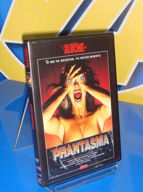 Pelicula en dvd PHANTASMA descatalogada  buen estado