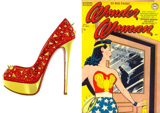 Thinking Orange: Zapatos de superheroína