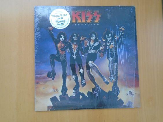 "KISS ""Destroyer"" (1976) LP : Casablanca / EX / In Shrink! https://t.co/5NNmjr43kV https://t.co/LBD2Mc0q7A"