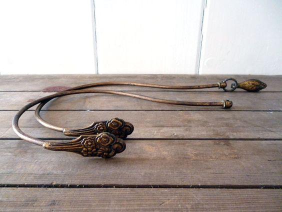 Curtains Ideas brass curtain holdbacks : French Curtain Tie Backs, Brass Curtain Tiebacks, Decorative ...