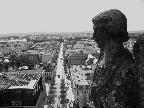 Vue depuis la cathédrale (Reims, France)