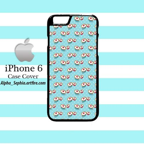 Tiffany Cupcakes Pattern iPhone 6 Case Cover