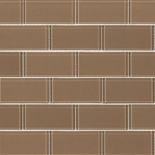 Brown Subway Tile Kitchen Backsplash: Glass Subway Tile, Subway Tiles And The Glass On Pinterest