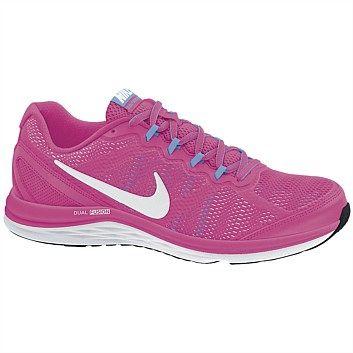 Womens Running Shoes - Rebel Sport - Nike Womens Nike Dual Fusion Run 3 Running Shoes