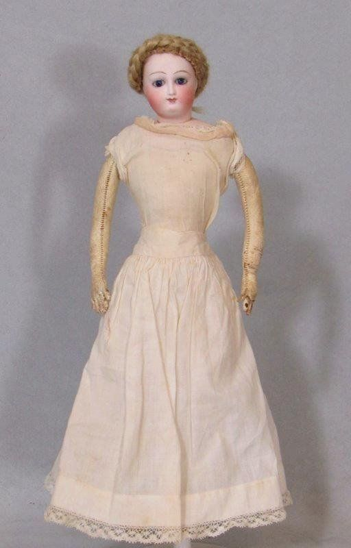 """Early Bru Lady,12""""  Pictured in The Bru Book ca 1870"""