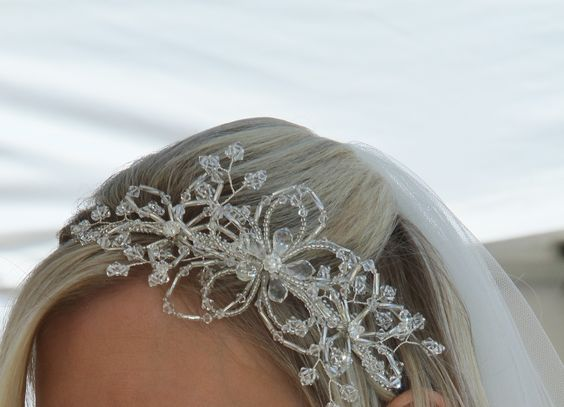 elaborate contemporary tiara