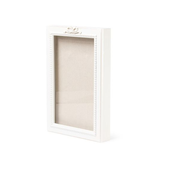 16x11 Shabby Box Shadowbox ($13) ❤ liked on Polyvore featuring home, home decor and shadow box