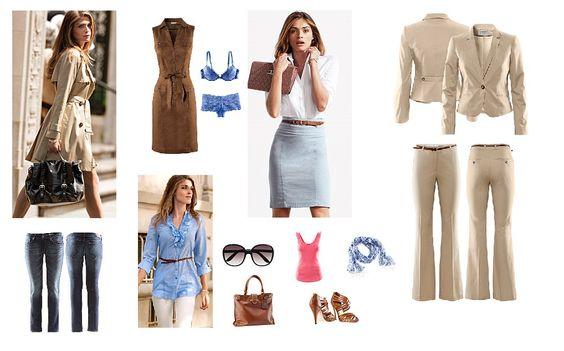 Reizen en vakantie aanbiedingen: Mode trends basis garderobe voorjaar / zomer 2011