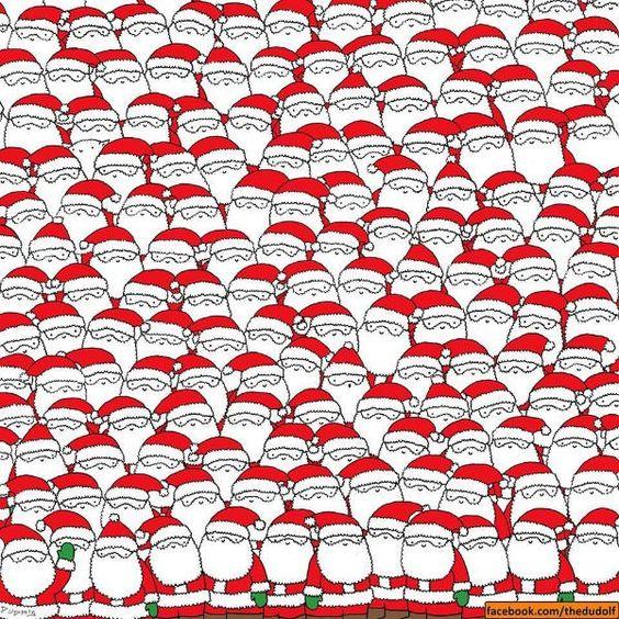 Het is weer van dat: jaarlijks rond deze periode duiken zoekplaatjes op waarbij talrijke kerstmannen iets verborgen houden. En deze hield ons toch enige tijd zoet. Kun jij het schaap vinden dat verborgen zit tussen alle kerstmannen? Hint: de tekenaar noemt het een schaap, wij vinden het eerder een kat!  Gevonden? Eerder publiceerden we …