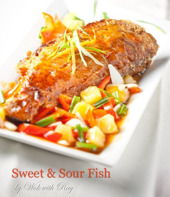 Fish fish recipes and sweet on pinterest for Sweet and sour fish recipe
