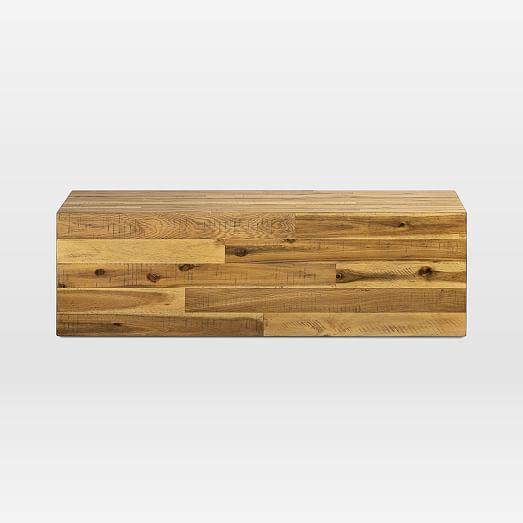 Alexa Reclaimed Wood Small Coffee Table Light Honey Reclaimed Wood Coffee Table Light Table Reclaimed Wood
