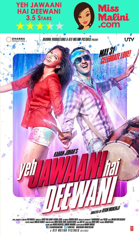 Bollywood Movie Review: Yeh Jawaani Hai Deewani ... Watch Bollywood Entertainment on your mobile FREE : http://www.amazon.com/gp/mas/dl/android?asin=B00FO0JHRI
