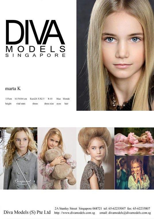 ModelScouts.com Model Marta K. - Comp Card Diva Models ...