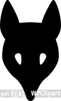 Fox Head Silhouette Public Domain Clip Art Image Wpclipart Com Silhouette Fox Head Silhouette Vector