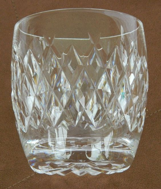 Signed Waterford Crystal Boyne Old Fashioned Tumbler 8 Ounce #Waterford