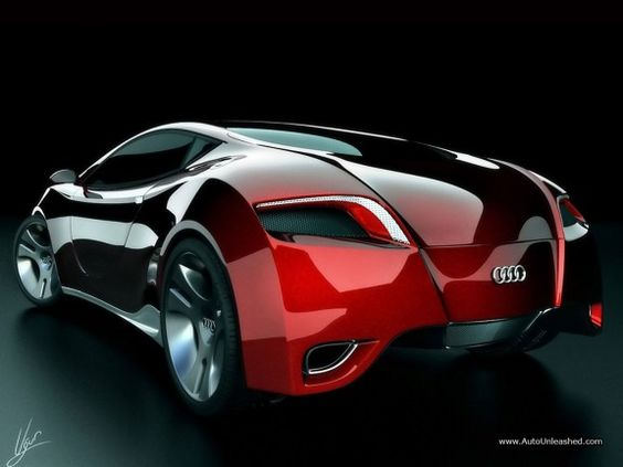 Audi Locus concept - the rear view of the car