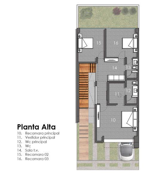 Casa valle imperial 155 creato arquitectos m xico homes - Planos de arquitectos ...
