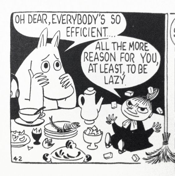 moomin black and white - Google Search