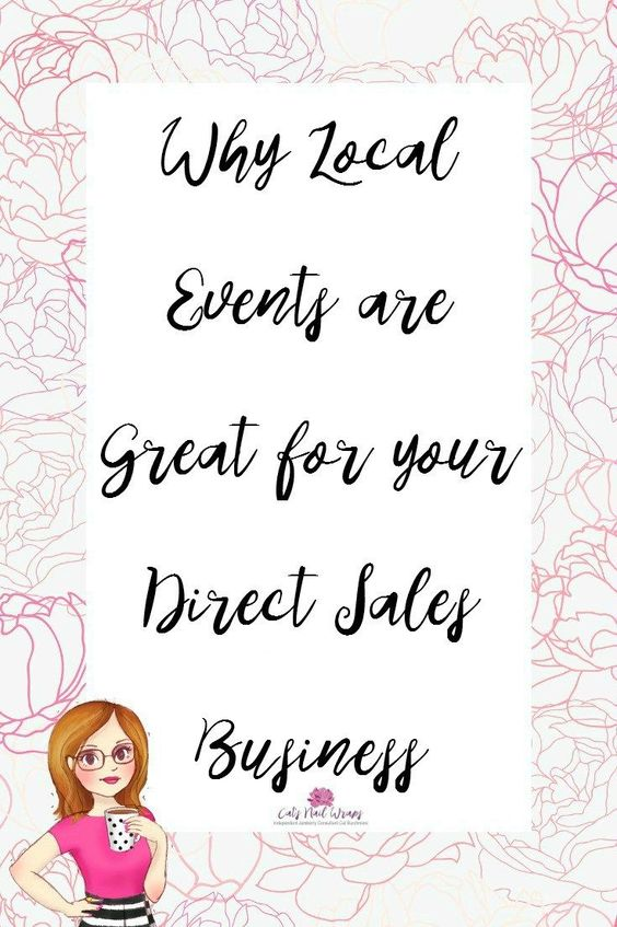 Local Events are Great for your Direct Sales Business