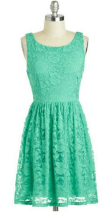 Mint dress - color is  little bright though